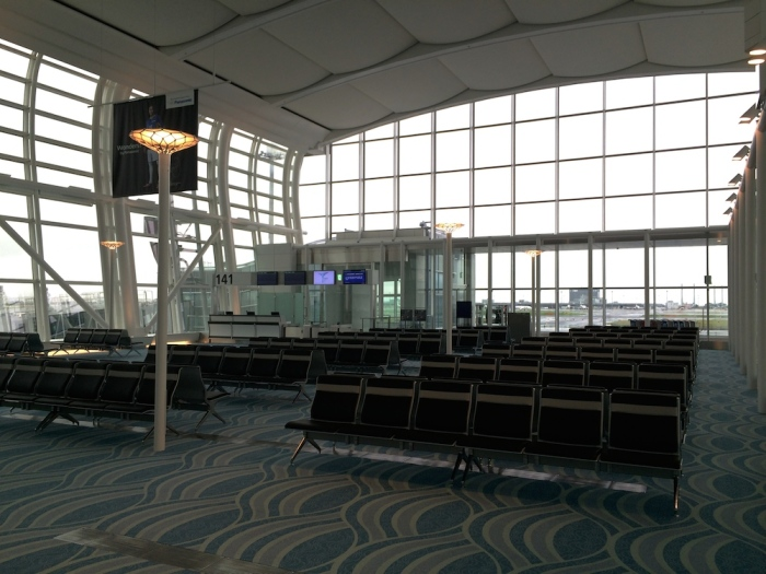 gate 141 waiting area